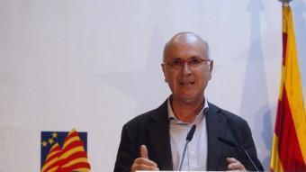 El secretari general de CiU, Josep Antoni Duran i Lleida ORIOL DURAN