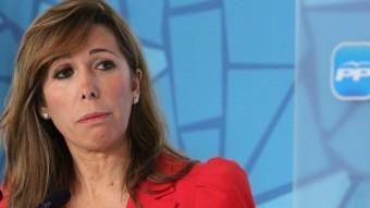 Alícia Sánchez-Camacho, en una imatge d'arxiu EL PUNT AVUI