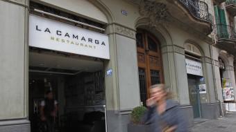 El restaurant La Camarga de Barcelona, on Método 3 ha admès que va enregistrar Sánchez-Camacho, el 2010 MARTA PEREZ