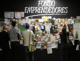 Les plataformes de crowdfunding creixen com a via per unir emprenedors i capital.  Foto:ARXIU/ JUANMA RAMOS