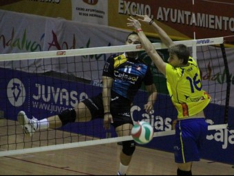 Bloqueig de Mora amb el seu actual equip RFEVB
