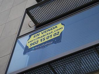 La deducció ha contribuït a impulsar a l'alça els preus dels pisos.  ARXIU