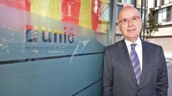 El president del comitè de govern d'UDC, Josep Antoni Duran i Lleida JUANMA RAMOS