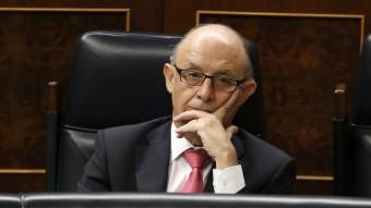 El ministre d'Hisenda, Cristóbal Montoro EFE