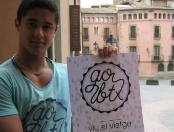 Nil Mora, l'emprenedor que ha creat el projecte Gobtx, fotografiat a Vic.  Foto:A. AGUILAR