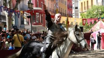 Un dels espectacles de Drakònia. JOAN SABATER