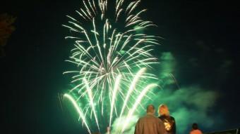 Els focs d'artifici van tancar les festes, diumenge a la nit JOAN SABATER