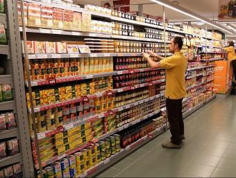 El furt alimentari està per sobre de la mitjana i és el que augmenta més.  Foto:JUANMA RAMOS