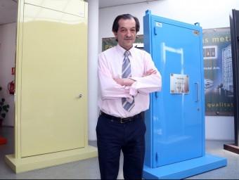 Ramon Grau, gerent de l'empresa Construccions Metàl·liques Grau.  JUAMMA RAMOS