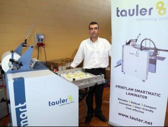 Josep Saumell és el director comercial de Tauler, amb seu a Vilafranca del Penedès.  JUANMA RAMOS