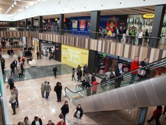 Centre comercial.