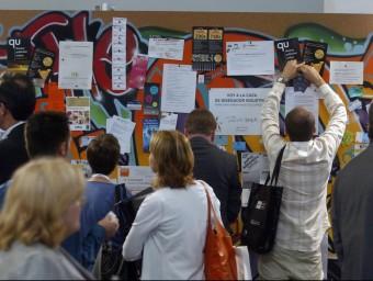 Biz barcelona es consolida en aquesta tercera edició com un saló referent per als emprenedors i enguany també per a les pumes.  Foto:ARXIU/ QUIM PUIG