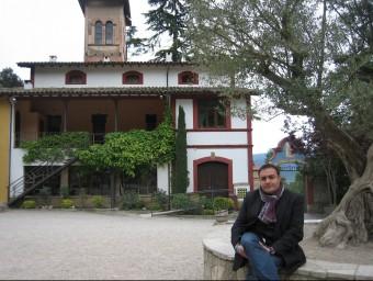Pere Mulero, director general d'Eix Estels, fotografiat a la casa de colònies Mas Banyeres de Centelles.  ANNA AGUILAR