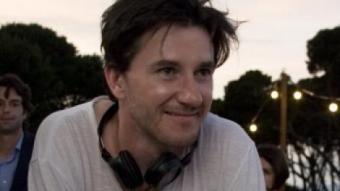Roger Gual, en el rodatge a l'Hostal Empúries l'estiu de l'any passat ARXIU