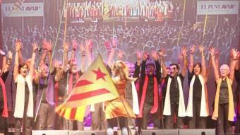 L'actuació del grup Gospelians en l'edició del festival celebrada el 29 de juliol de l'any passat MANEL LLADÓ