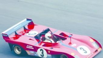 També al circuit de Vallelunga, el 312 P de Tim Schenken i Carlos Reutemann, que van ser segons, el millor resultat de Ferrari en aquella cursa. MARIO CHAVALERA