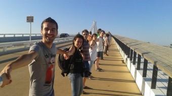 La cadena humana que el passat 28 de juny ja es va fer a Deltebre EL PUNT AVUI