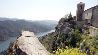 Les vistes són un dels atractius principals de la visita a Siurana JUDIT FERNÀNDEZ