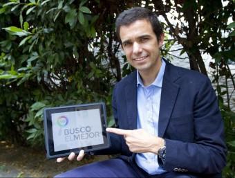 Lluís Soler Gomis, fundador del comparador de software, Busco El Mejor.  ALBERT SALAMÉ