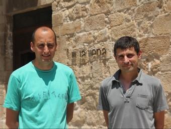 Toni Costa i Ramon Queralt, els dos socis fundadors de La Llena, Serveis i Projectes Ambientals.  D.M