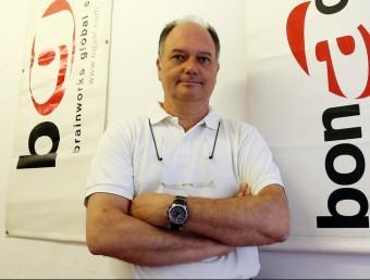 El director general del portal de venda on-line, Acuista.com, Marc Serra.  JUANMA RAMOS