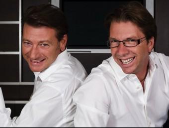 Fabio Regolo i Daniele Viganó, cofundadors del comparador en línia MyBest  Foto:EL PUNT AVUI