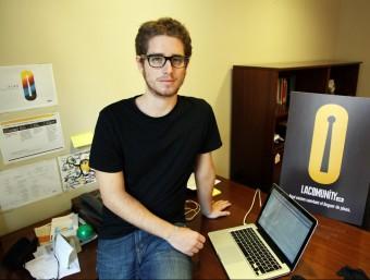 Francesc Sanz, fundador de LaComunity.com.  ANDREU PUIG