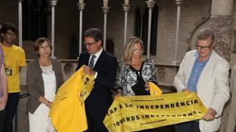 Artur Mas ha rebut una delegació de l'ANC ANDREU PUIG