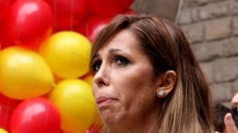 La presidenta del PP de Catalunya, Alícia Sánchez-Camacho, a l'acte propi del PP per la Diada ACN