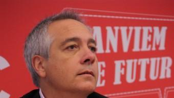 El primer secretari del PSC, Pere Navarro, a l'executiva extraordinària d'aquest divendres ACN