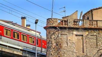 A dalt el Talgo travessant Girona, JORDI SOLER/, NARCÍS SANS ,CRDI