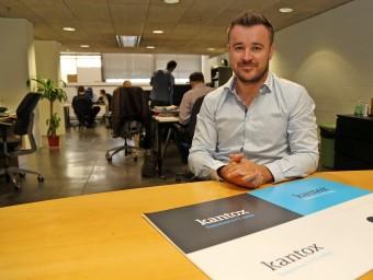 Philippe Gelis a les oficines de Kantox a Barcelona Activa.  JUANMA RAMOS