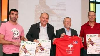 Presentació del trofeu de la Mancomunitat d ela Ribera Alta. FREDIESPORT