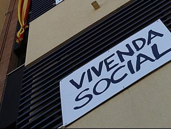 La Generalitat manté en estudi la privatització de la cartera de pisos en lloguer de l'Incasòl.  Foto:ARXIU