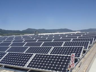 Les renovables i l'autoconsum, grans damnificats de la reforma.  Foto:ARXIU