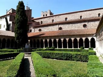 Arles de Tec, abadia de Santa Maria