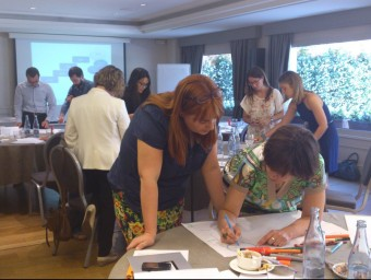 Participants en una reunió de treball de Kid's Cluster.  Foto:KID'S CLUSTER