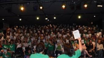 Mestres balears en una assemblea per decidir les mobilitzacions a les Illes ASSEMBLEA DE DOCENTS DE LES ILLES BALEARS