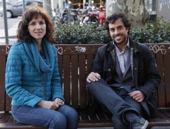 Idoia Mugarza i Ignasi Casanovas són els ideòlegs de Woowos, una aplicació de missatgeria instantània.  WOOWOS