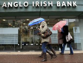 L'Anglo Irish Bank va ser nacionalitzat i liquidat.  AFP