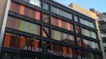 La façana del nou multisales, situat al costat de l'estació de Putxet dels Ferrocarrils Catalans ARXIU