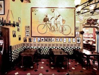 Un grup va fundar el CADCI a la cerveseria Els quatre gats de Barcelona el 1903.  ARXIU