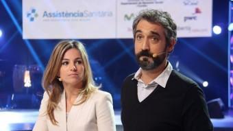 Núria Solé i Roger de Gràcia conduiran un programa de 15 hores a TV3 que combinarà actuacions musicals i activitats divulgatives ACN