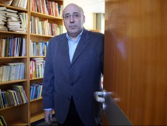El professor Martí Parellada es mostra partidari a reorganitzar el mapa de titulacions.  QUIM PUIG