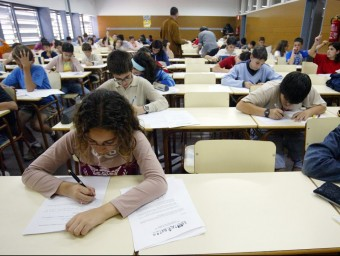 El programa d'excel·lència matemàtica Estalmat fa 10 anys que s'imparteix a Catalunya.  ARXIU