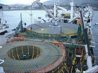Prysmian aportarà experiència en els cables submarins en un projecte.  ARXIU