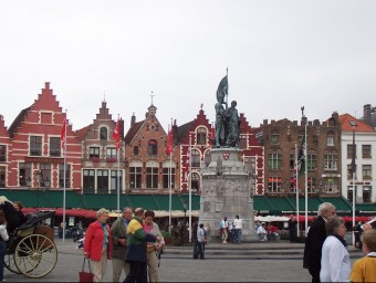 El govern de Bruges (foto) va encarregar fer un llibre a Joan-Lluís Vives, publicat el 1526.  ARXIU