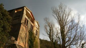 El búnquer exterior construït pel govern republicà durant la guerra. MIQUEL RUIZ