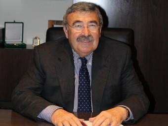 Joan Simó lidera la Cambra de Comerç de Lleida des de fa més de vint anys.  CAMBRA LLEIDA