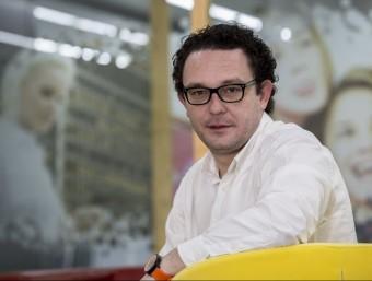 Aleix Valls defensa el potencial emprenedor de Barcelona.  ALBERT SALAMÉ